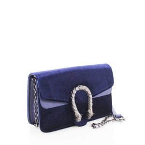 Small blue bag