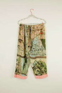 Budapest Map pant