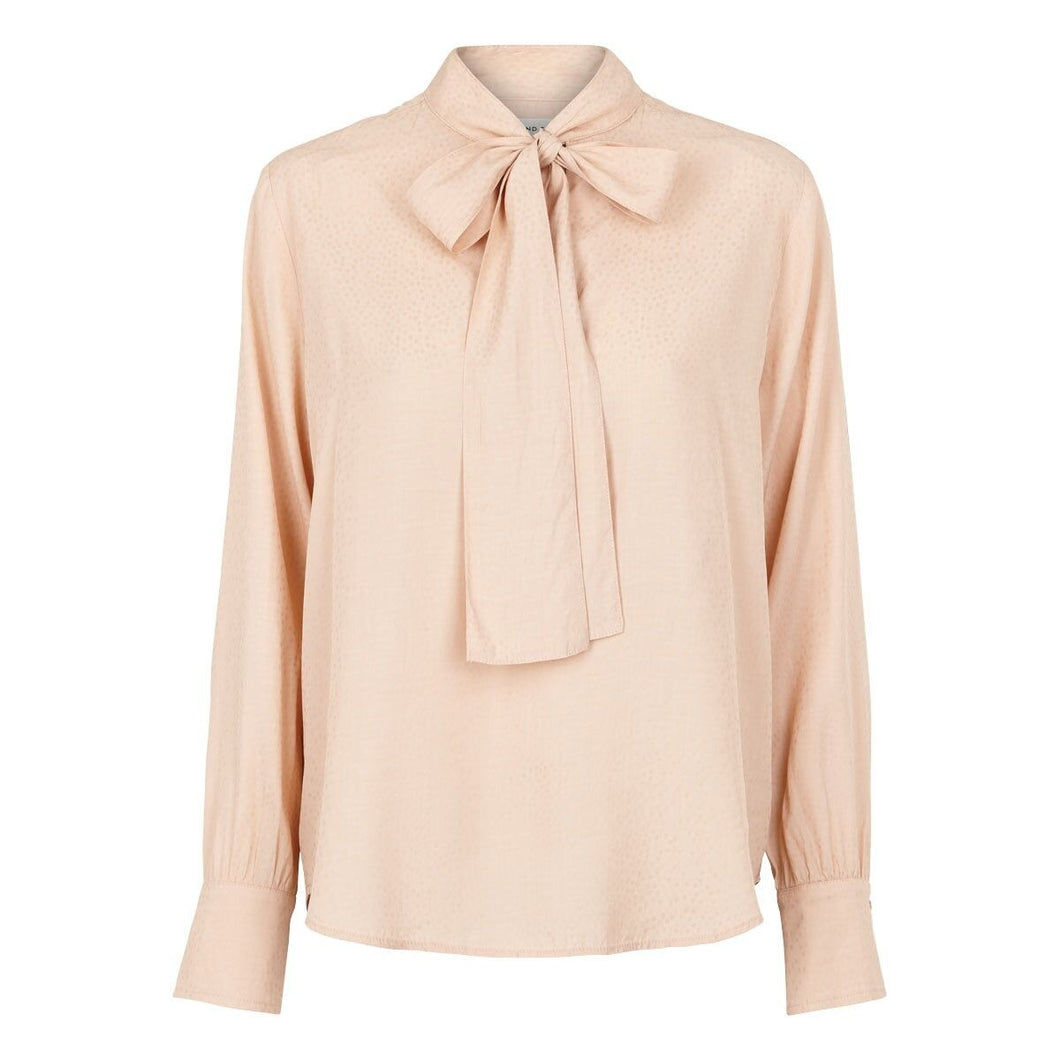 PINK PUSSYBOW BLOUSE SECOND FEMALE UK