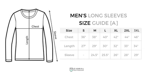jersey sizing guide