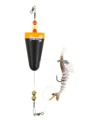 Vudu Cone Popping Cork/Vudu Shrimp Combo - Gold, Soft Bait, Vudu, Cabral Outdoors - Cabral Outdoors
