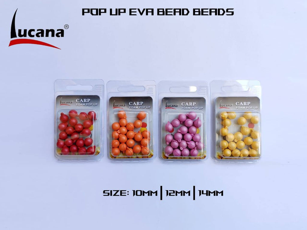 Lucana Carp Foam Pop Up 20 pcs/pkt, Pop Up, Lucana, Cabral Outdoors - Cabral Outdoors