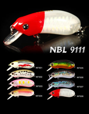 Noeby NBL 9111 Hard lure 55mm/10.6g, 1pcs/pkt  Noeby Hard Baits zaifish.myshopify.com Cabral Outdoors