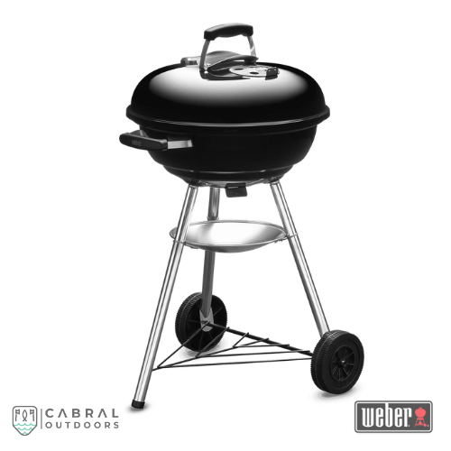 Weber Compact 47cm & 57cmCharcoal Barbeque Grill (Black)