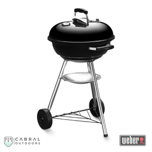Weber Compact 47cm & 57cmCharcoal Barbeque Grill (Black), Barbecue, Weber, Cabral Outdoors - Cabral Outdoors