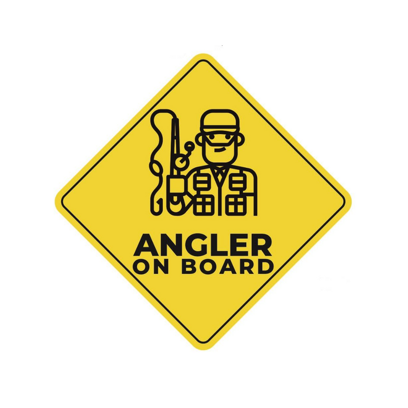 Angler On Board! Stickers, stickers, Cabral Outdoors, Cabral Outdoors - Cabral Outdoors