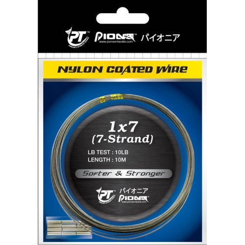 Pioneer 1X7 Nylon Coated Wire, Wire Leader, Pioneer, Cabral Outdoors - Cabral Outdoors
