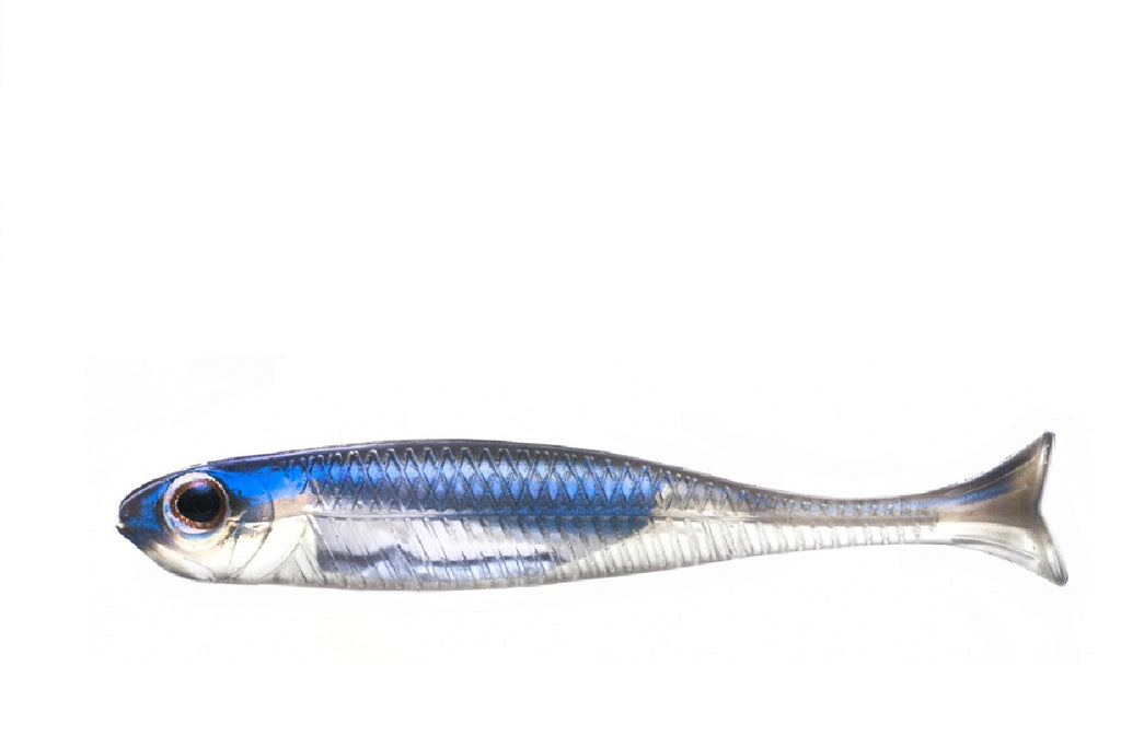 "Fish Arrow Flash-J Huddle 1"" 8 per pack #04 Problue/Silver Fish Arrow Soft Bait zaifish.myshopify.com Cabral Outdoors"