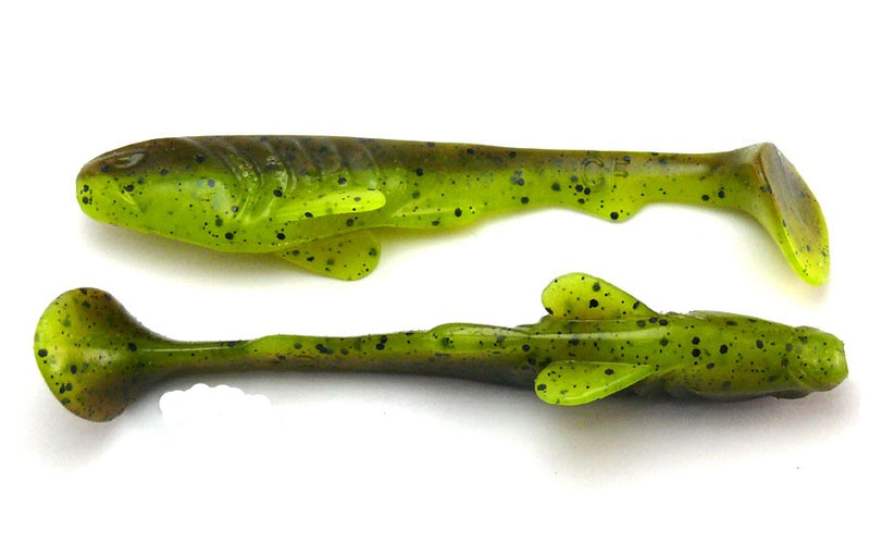 Crazy Fish Tough Soft Lure 100mm | 6pcs/pkt, Soft Bait, Crazy Fish, Cabral Outdoors - Cabral Outdoors