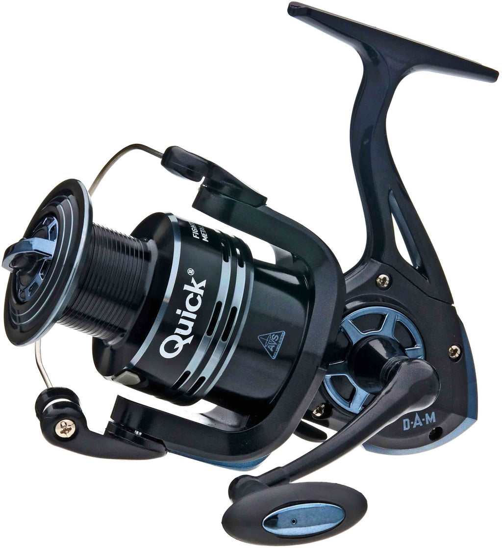 DAM Quick Fighter Pro Metal 360 FD Reel  DAM SPINNING REELS zaifish.myshopify.com Cabral Outdoors