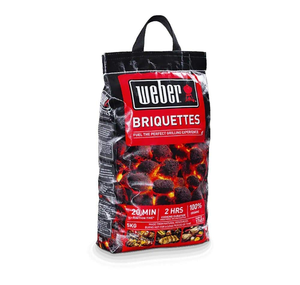 Weber Coconut Shell Charcoal Briquettes (5kg), Barbecue, Weber, Cabral Outdoors - Cabral Outdoors
