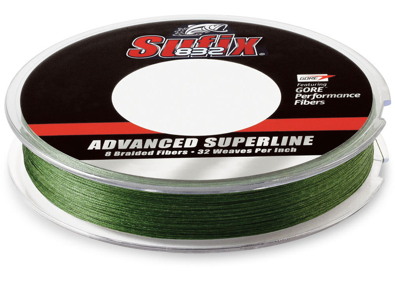 Sufix 832 Advanced Superline 135M | 20Lb, Braided Line, Sufix, Cabral Outdoors - Cabral Outdoors