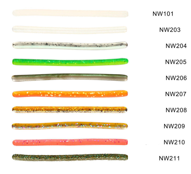 Noeby NBL S3123 Worm Soft lure 11cm/3.2g, 6pcs/pkt, Soft Bait, Noeby, Cabral Outdoors - Cabral Outdoors