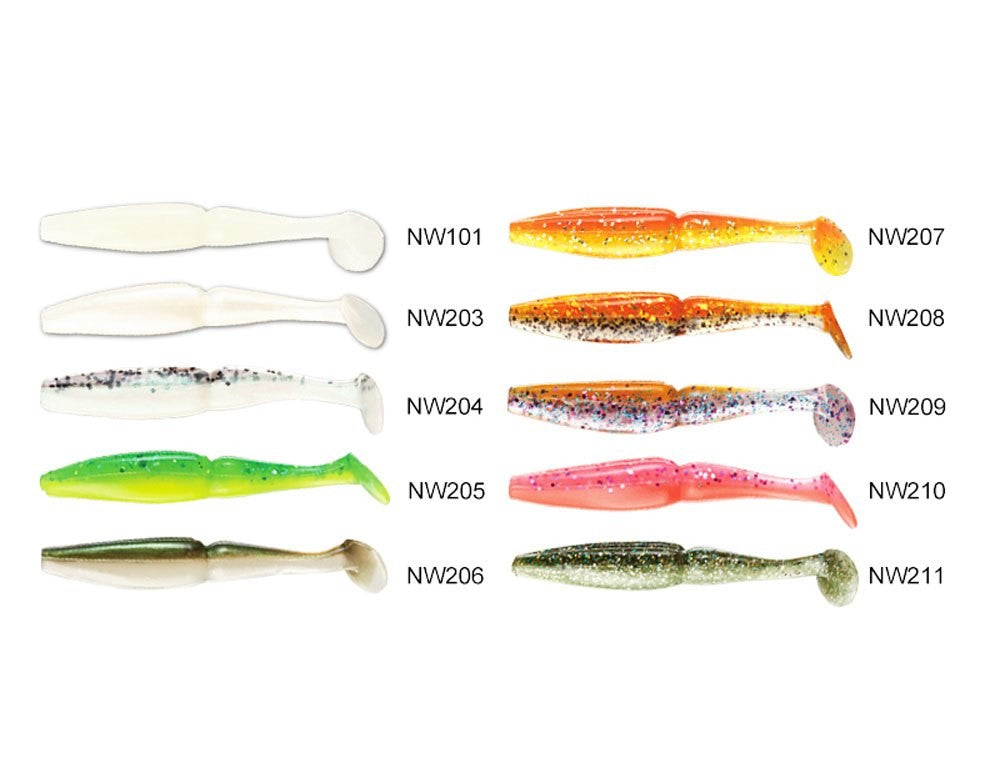 Noeby NBL S3109 Soft lure 8cm/3.5g, 6pcs/pkt, Soft Bait, Noeby, Cabral Outdoors - Cabral Outdoors