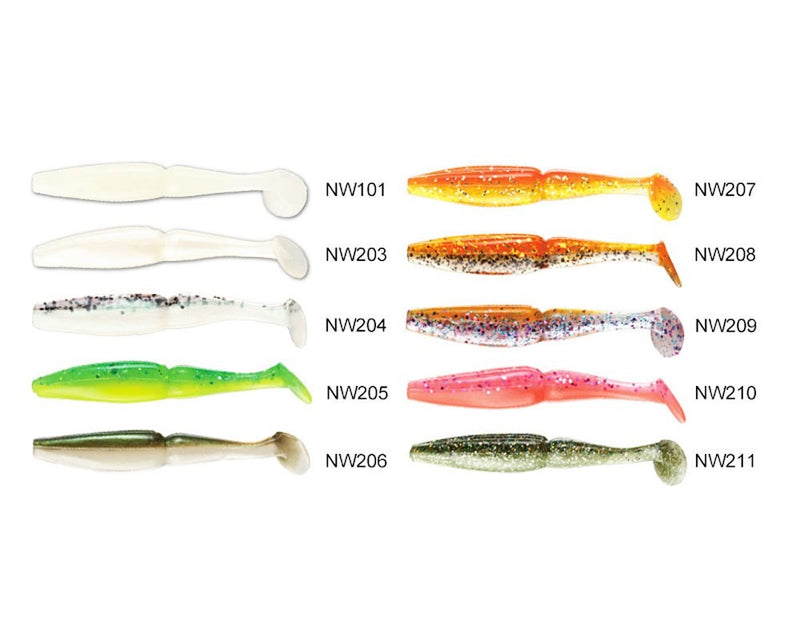 Noeby NBL S3109 Soft lure 8cm/3.5g, 6pcs/pkt  Noeby Soft Bait zaifish.myshopify.com Cabral Outdoors