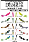 LuresFactory Pop Korn Thai Rubber Frog | 5.5cm/14g, 1pcs/pkt - Cabral Outdoors