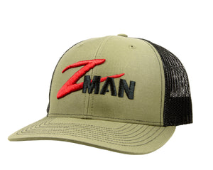 Z-Man Structured Trucker HatZ, Clothing, Zman, Cabral Outdoors - Cabral Outdoors