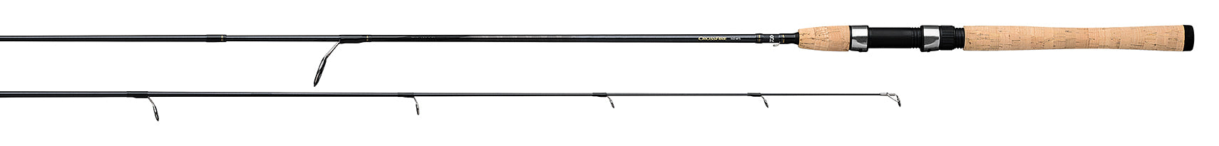 7/' 2 PC Medium action CFF702MFS NEW Daiwa Crossfire spinnning Rod