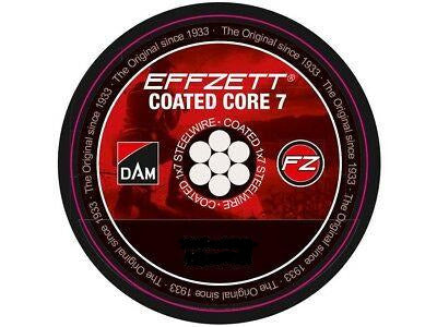 DAM EFFZETT Coated Core7  Spin Leader, Leader, DAM, Cabral Outdoors - Cabral Outdoors