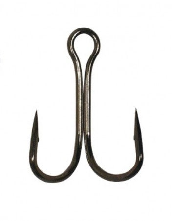 Gamakatsu Double 21  Hooks 1-2, Black Nickel - Cabral Outdoors