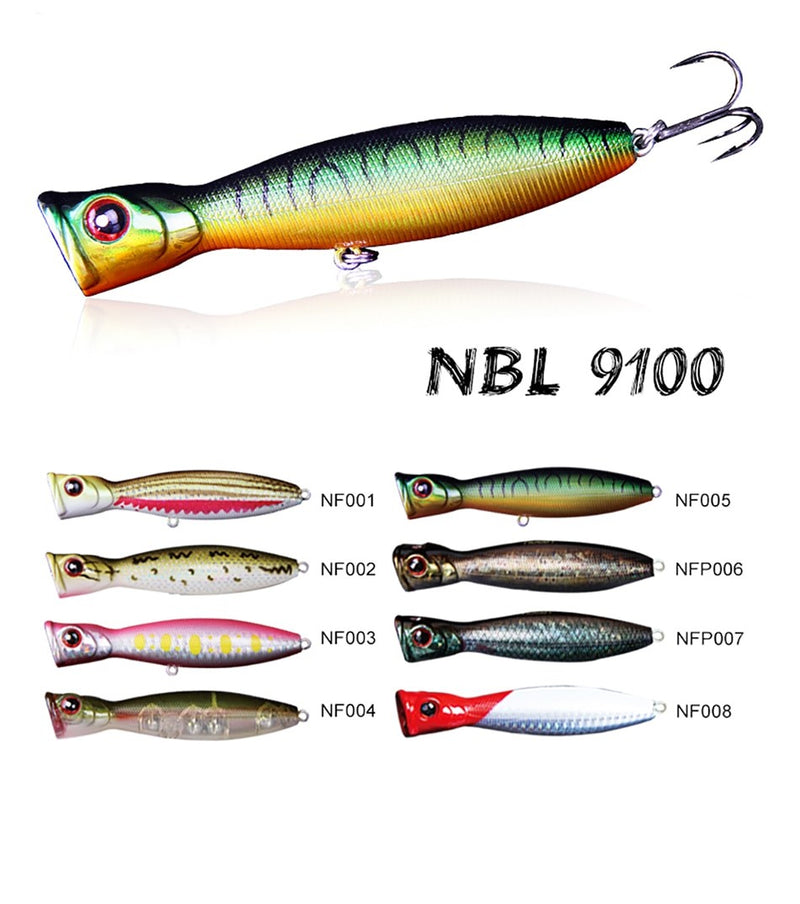 Noeby NBL 9100 Hard lure 100mm/17g, 1pcs/pkt, Hard Baits, Noeby, Cabral Outdoors - Cabral Outdoors