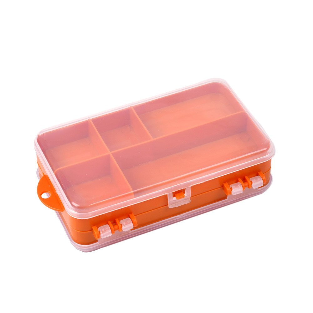 Double sided 9 Compartments Fishing Tackle Box 14 x 8.3 x 4.1cm, Tackle Box, Cabral Outdoors, Cabral Outdoors - Cabral Outdoors