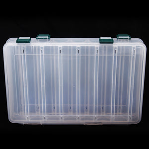 Double Sided 14 Compartments Plastic Fishing Tackle Box, Tackle Box, Cabral Outdoors, Cabral Outdoors - Cabral Outdoors
