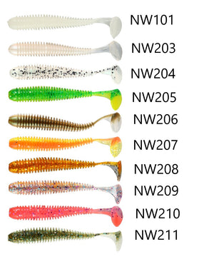 Noeby NBL S3101 Soft lure 4.5cm-8.75cm | 0.6g-5g, Soft Bait, Noeby, Cabral Outdoors - Cabral Outdoors