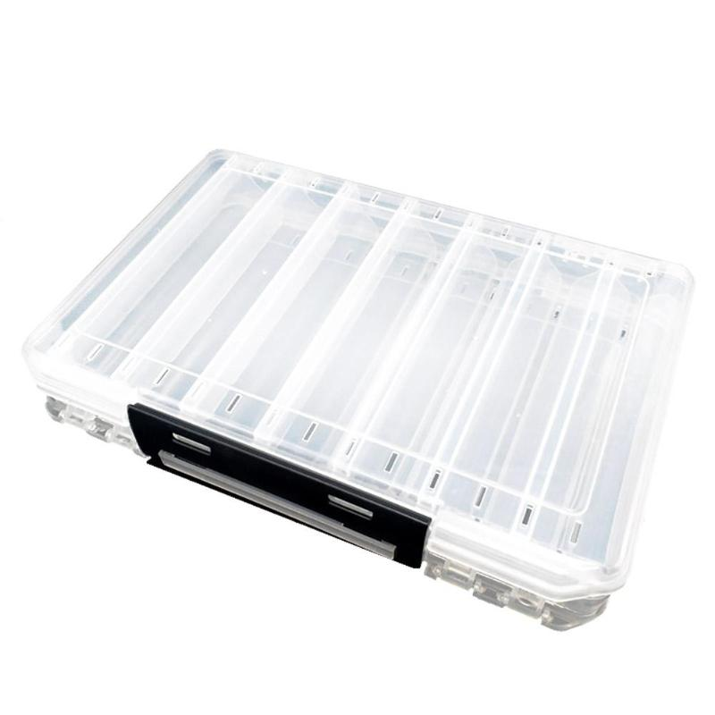 Double Sided Fishing Tackle Box 20*12.6*3.6cm  Cabral Outdoors Tackle Box zaifish.myshopify.com Cabral Outdoors
