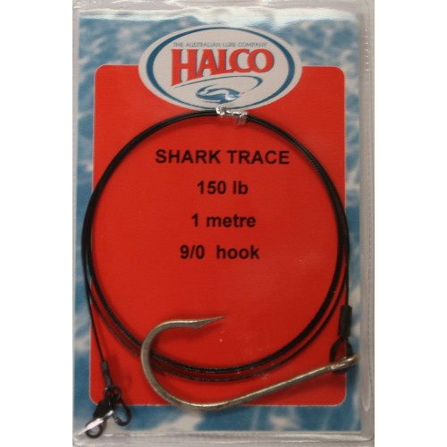 Halco Wire Shark Trace 1M,100lb-150lb, Leader, Halco, Cabral Outdoors - Cabral Outdoors