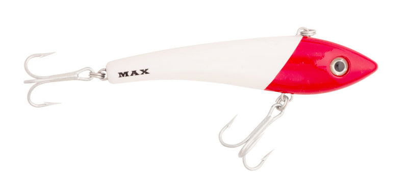Halco Max 110 Hard Lure 110mm/30g,1pcs/pkt White Redhead Halco Hard Baits zaifish.myshopify.com Cabral Outdoors