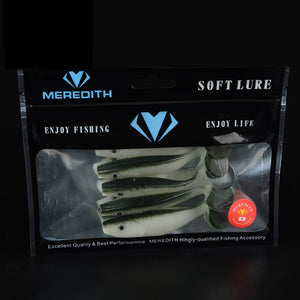 Meredith Soft Lure 90mm/7.3g,5pcs/pkt, Soft Bait, Meredith, Cabral Outdoors - Cabral Outdoors