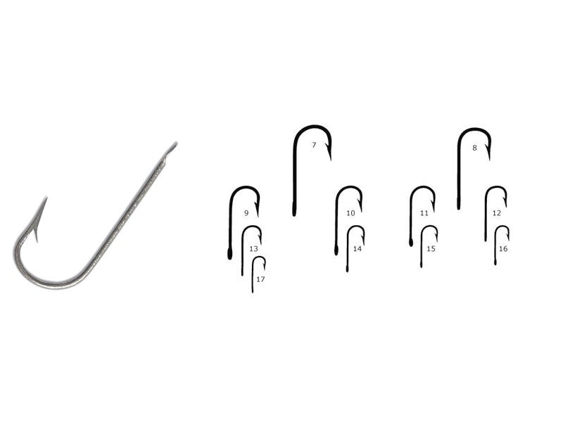Mustad Round Bent Fishing Hooks 100pcs/pack | Size 25, Hooks, Mustad, Cabral Outdoors - Cabral Outdoors
