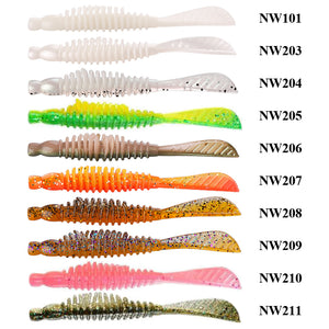 Noeby NBL S3115 Soft lure 10cm-11cm/3.2g-3.5g, 6pcs/pkt, Soft Bait, Noeby, Cabral Outdoors - Cabral Outdoors