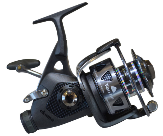 Okuma Trio BF-55 Baitfeeder Spinning Reel, SPINNING REELS, Okuma, Cabral Outdoors - Cabral Outdoors