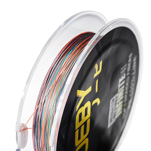 NOEBY BRAIDED LINE SUPERIOR HIGH-END INFINITE II N 150m PE 8 BRAID RAINBOW COLOR, Braided Line, Noeby, Cabral Outdoors - Cabral Outdoors