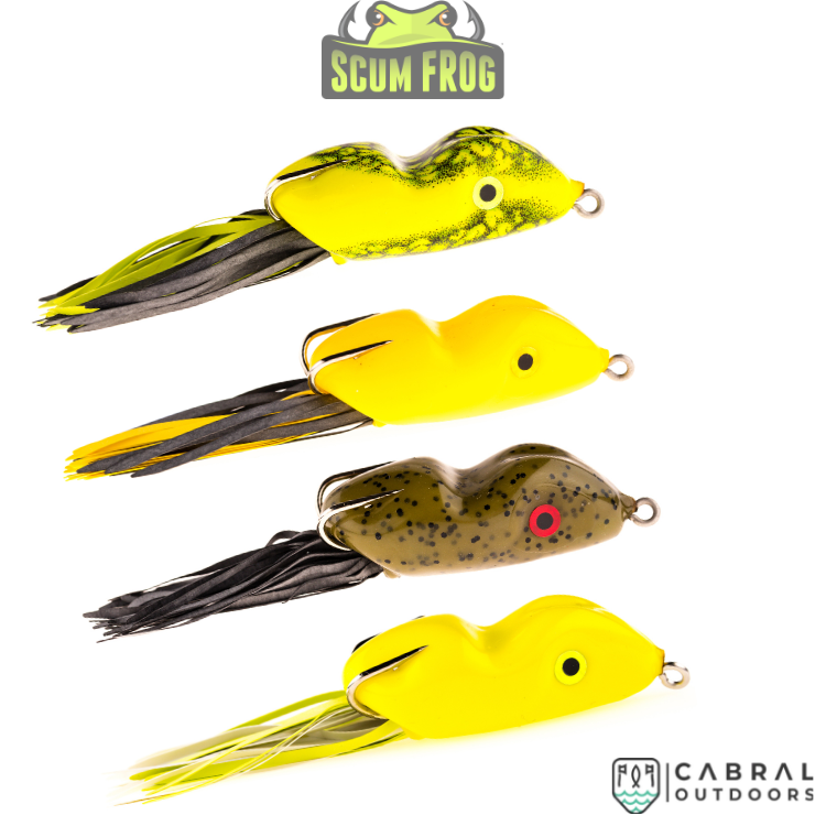 Scum Frog | 10 g | 1pcs/pkt - Cabral Outdoors