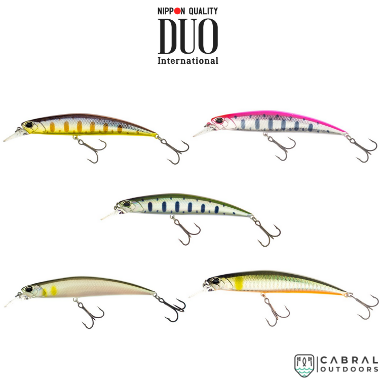 Duo Spearhead Ryuki 110S Size: 110mm | Weight: 21g, Hard Baits, Duo, Cabral Outdoors - Cabral Outdoors
