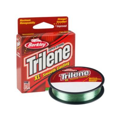 Berkley Trilene XL Monofilament 110yd | 100m Low-Vis Green Line 10lb-12lb, Monofilament Line, Berkley, Cabral Outdoors - Cabral Outdoors