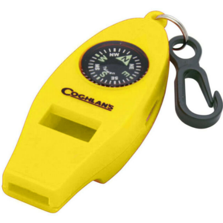 Coghlan's Four Function Whistle, Whistle, Coglans, Cabral Outdoors - Cabral Outdoors