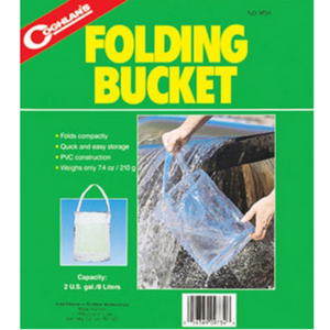 Coghlan's Folding Bucket, Folding Bucket, Coglans, Cabral Outdoors - Cabral Outdoors