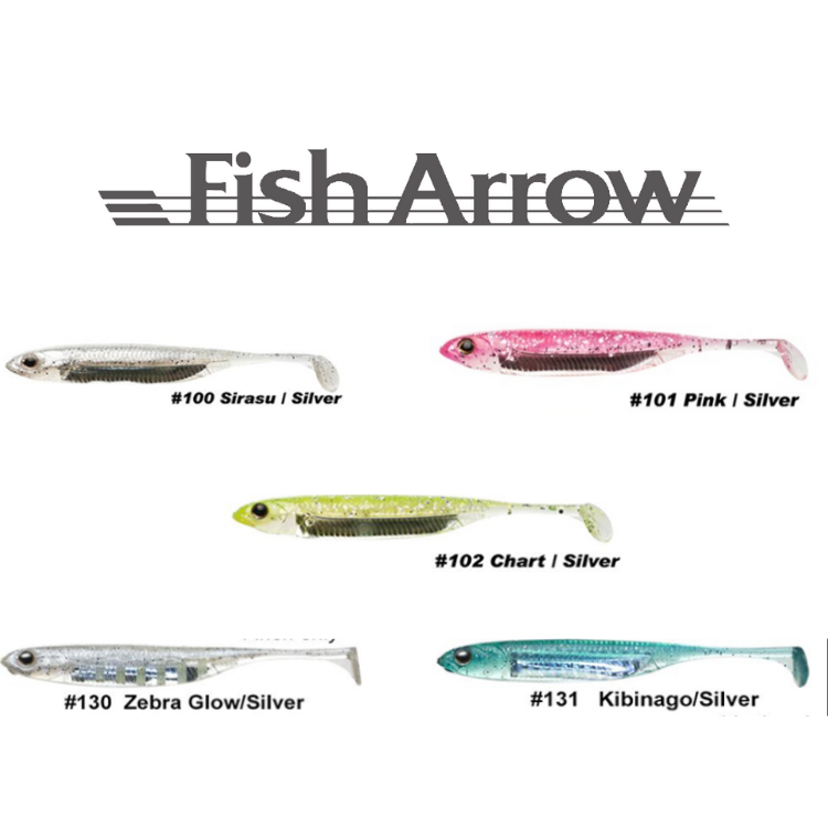 "Fish Arrow Flash-J Shad 4""sw 
