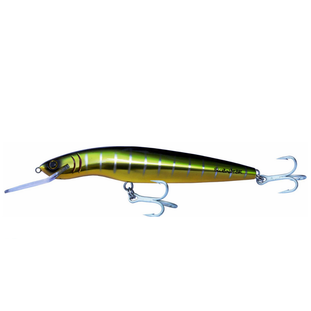 GILLIES BLUEWATER MINNOW 120 and 160 Hard lure |16cm/19g, 16cm/34g, 2m and 4m Depth, 1pcs/pkt, - Cabral Outdoors