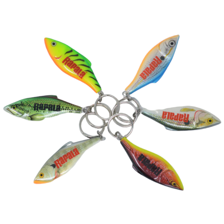 Rapala Rattlin' Rap Lure Key chain | 1Pc, key chain, Rapala, Cabral Outdoors - Cabral Outdoors