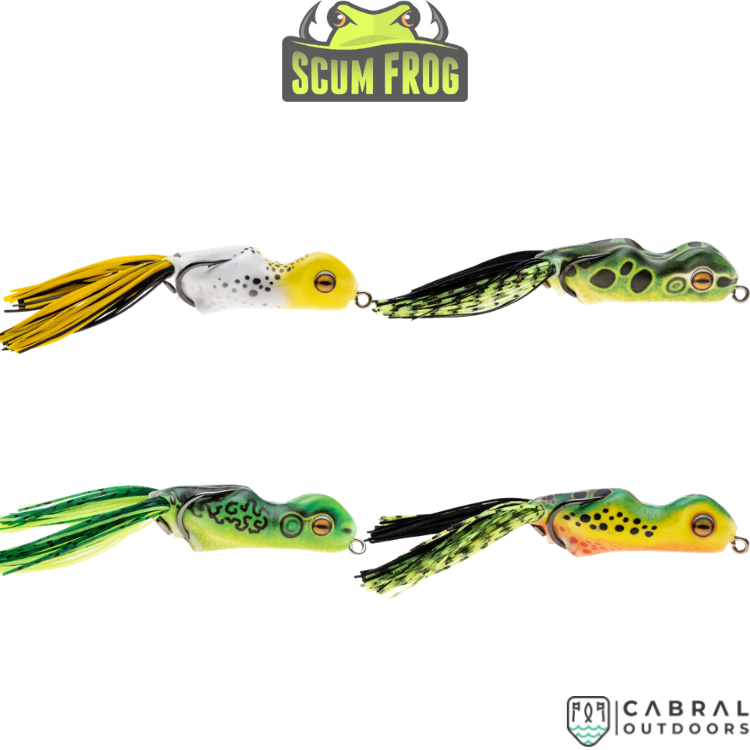 Scum Frog Trophy Series | 15g | 1pcs/pkt, Frog, Scrum frog, Cabral Outdoors - Cabral Outdoors