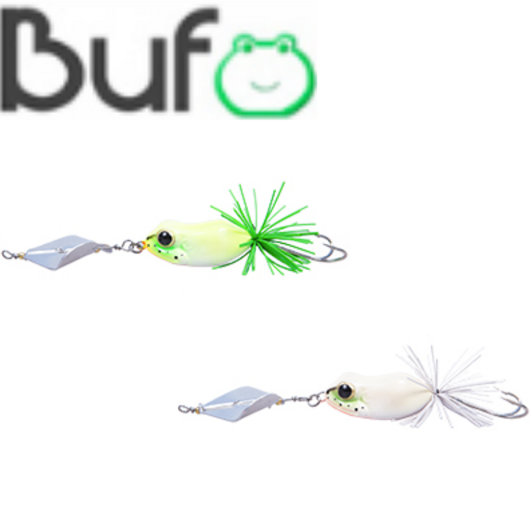 LuresFactory Wonder Frog Bufo Spinner 11g | 5cm | size 2/0 | 1pcs/pkt