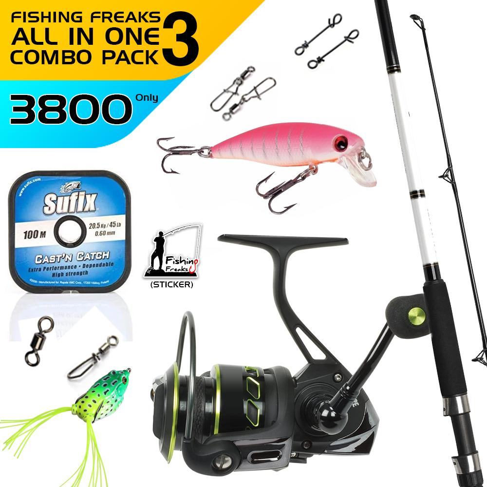 Fishing Freaks Beginners Combo-3, Combo, Cabral Outdoors, Cabral Outdoors - Cabral Outdoors