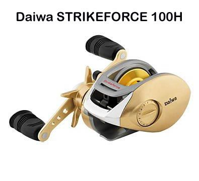 Daiwa Strikeforce 100H Baitcasting Reel | right hand reel