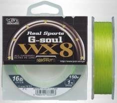 YGK Real Sports G-soul WX8  PE Braided line | 25lb | 150m japan - Cabral Outdoors