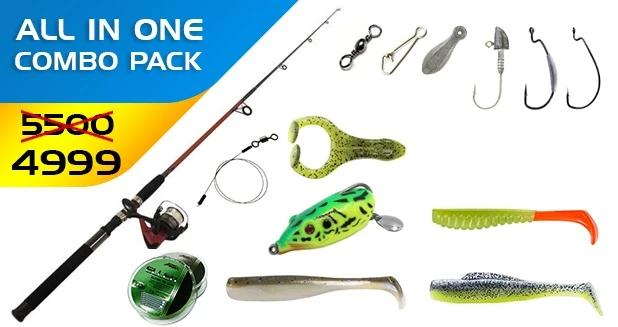 Fishing Freaks Combo-1  Cabral Outdoors Combo zaifish.myshopify.com Cabral Outdoors